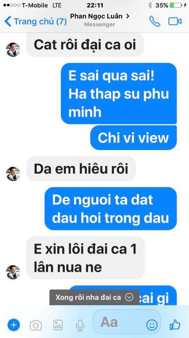 Đàm Vĩnh Hưng công khai tin nhắn Phan Ngọc Luân thừa nhận dựng chuyện ngủ chung giường để PR bản thân - Ảnh 2.