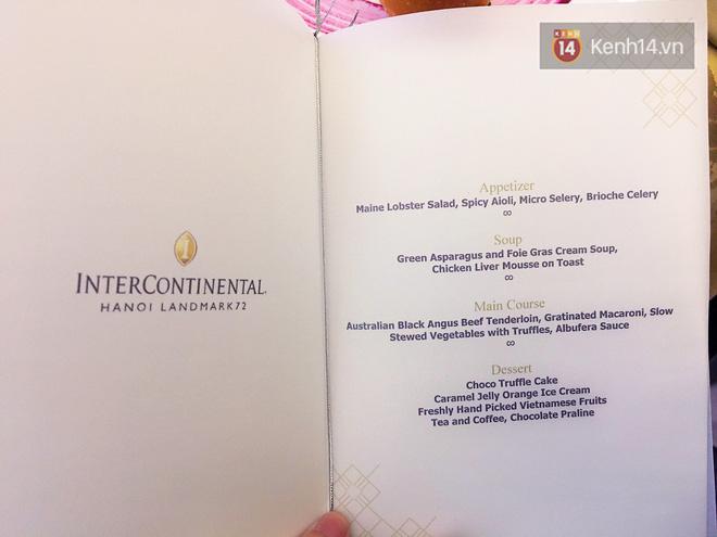 Đêm tiệc Hàn ở Hà Nội, nàng Kim Tae Hee đã cùng mọi người dùng những món sang chảnh gì? - Ảnh 2.
