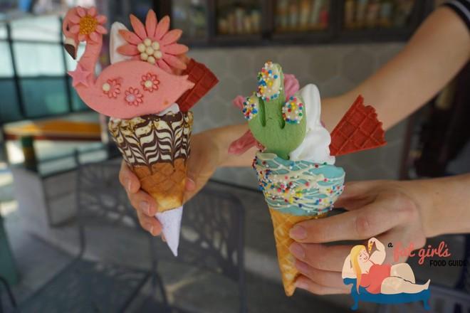 """Đến Hàn đi đâu, ăn gì cũng được nhưng nhớ phải """"sống ảo"""" với những que kem siêu lung linh này - Ảnh 1."""