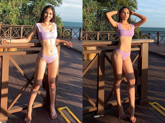 Đọ body nóng bỏng khi diện bikini của 6 nàng hậu Vbiz trên đấu trường quốc tế 2018 - Ảnh 3.