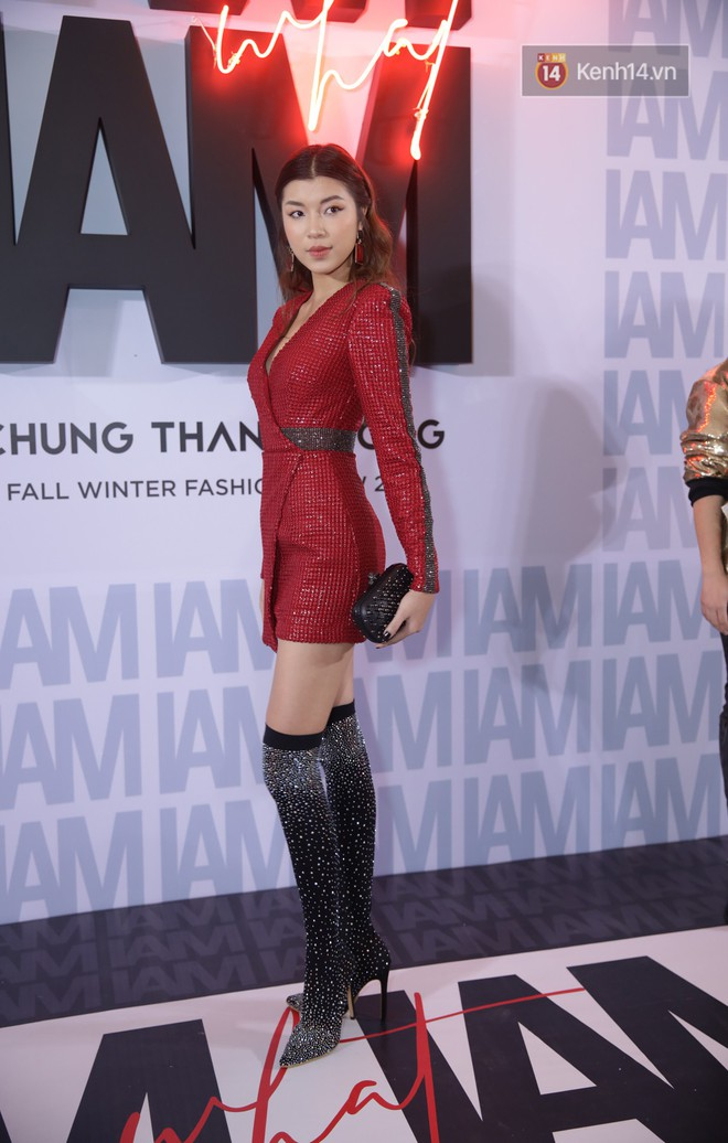 The red carpet Chung Thanh Phong show: it was able to test strange styles, as Quỳnh Anh Shyn caught the bird with rain - Photo 7.
