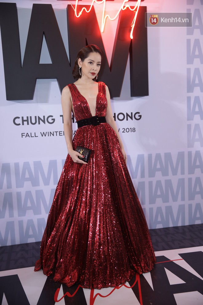 The red carpet Chung Thanh Phong show: It is capable of trying out extravagant style, as Quỳnh Anh Shyn caught a rain bird - Photo 3.