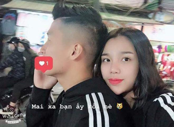 Bạn gái Bùi Tiến Dũng chúc người yêu trước trận Lào vs Việt Nam