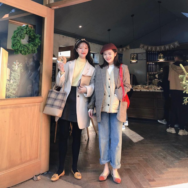 Cặp bạn thân Trung - Hàn xinh đẹp, diện đồ ton sur ton nhìn phát mê trên Instagram - Ảnh 5.