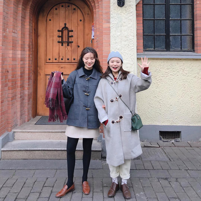 Cặp bạn thân Trung - Hàn xinh đẹp, diện đồ ton sur ton nhìn phát mê trên Instagram - Ảnh 7.
