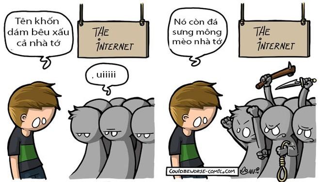 Bộ tranh đúng đến phũ phàng về cuộc sống của bao người trên mạng Internet - Ảnh 6.