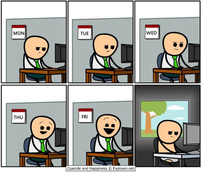 Bộ tranh đúng đến phũ phàng về cuộc sống của bao người trên mạng Internet - Ảnh 2.