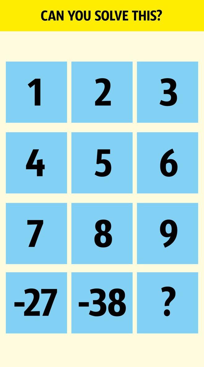 Phải thông minh lắm bạn mới giải được 6 câu đố kích thích trí não và khả năng tư duy này - Ảnh 2.