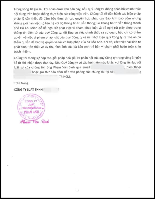 Bảo Anh tung tin nhắn khẳng định lần cuối không liên quan đến đổ vỡ của Phạm Quỳnh Anh và Quang Huy - Ảnh 4.