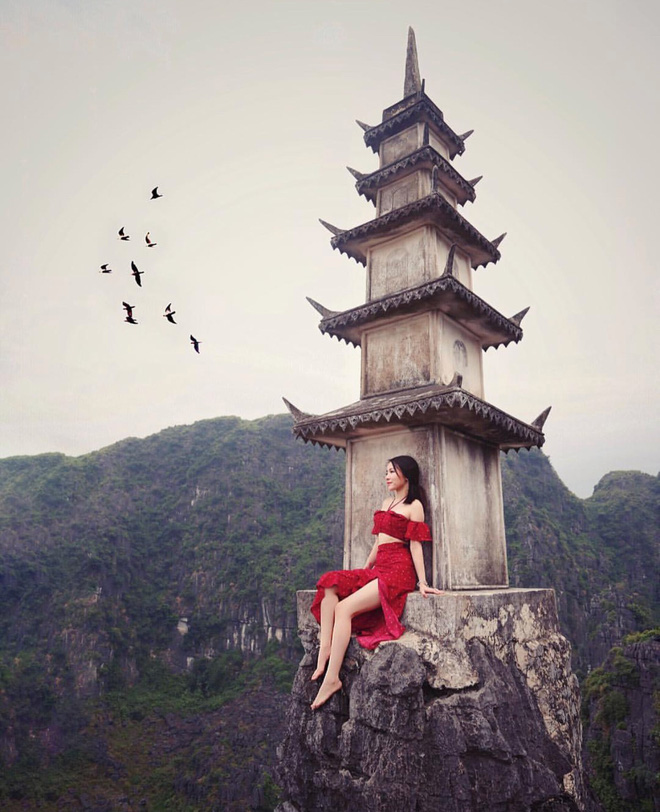 """Tọa độ check-in hot nhất ở Ninh Bình: Hùng vĩ và """"ảo diệu"""" không thua gì cảnh phim cổ trang - Ảnh 11."""