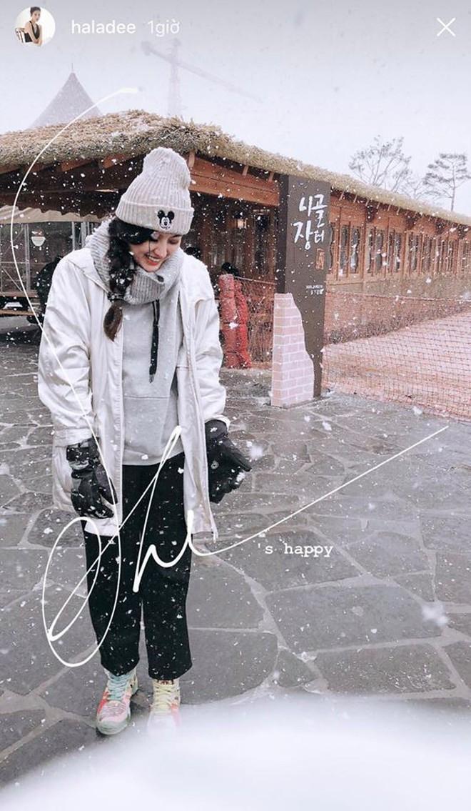 Kỳ Duyên - Diệp Lâm Anh - Hà Lade đăng ảnh dưới tuyết trắng: Xinh đẹp và mặc chất chẳng kém sao nữ Kbiz nào! - Ảnh 11.