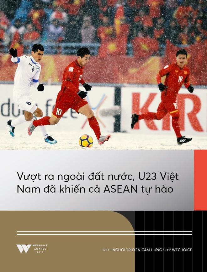 Câu chuyện về người truyền cảm hứng 5+1: Khi hàng triệu trái tim cùng thổn thức vì U23 Việt Nam - Ảnh 7.