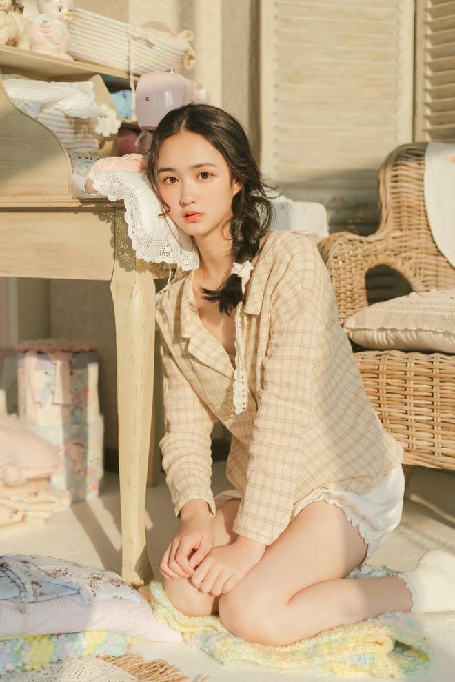 Cô bạn Trung Quốc mặt tròn, má phính mà vẫn cực xinh - Ảnh 9.