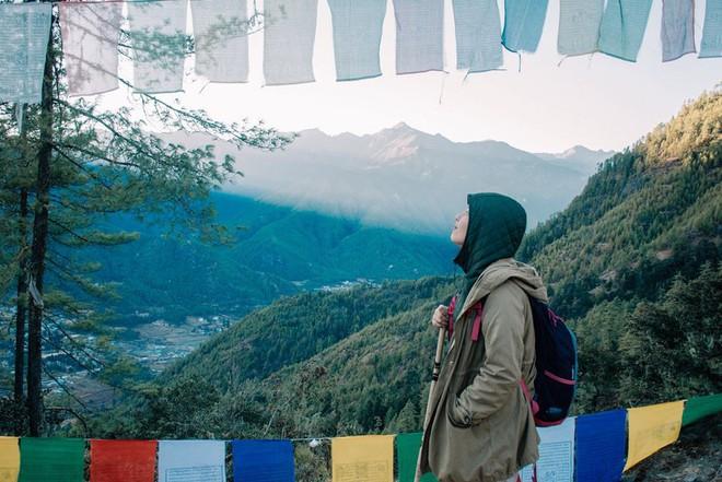 Ngắm Bhutan đẹp ngoài sức tưởng tượng dưới ống kính của travel blogger Nhị Đặng - Ảnh 7.