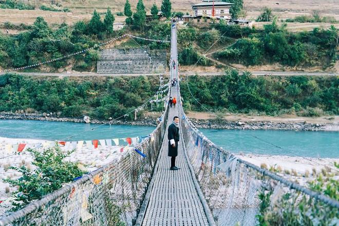 Ngắm Bhutan đẹp ngoài sức tưởng tượng dưới ống kính của travel blogger Nhị Đặng - Ảnh 5.
