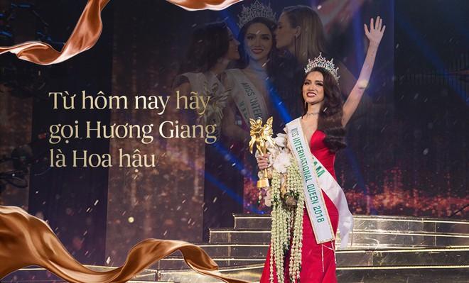 Lâm Khánh Chi chia sẻ gì sau chiến thắng của Hương Giang tại Hoa hậu Chuyển giới Quốc tế 2018? - Ảnh 1.