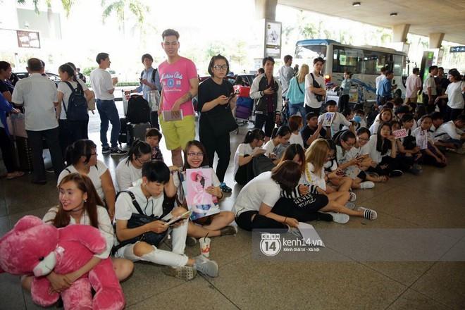 Về đến sân bay Việt Nam, Hương Giang vội thay áo dài đỏ, đội vương miện lộng lẫy để chào khán giả - Ảnh 12.