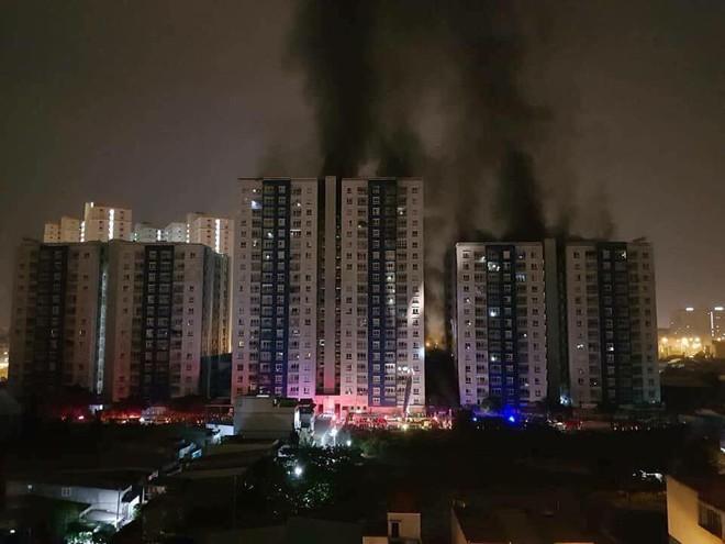 TP.HCM: Cháy lớn ở chung cư cao cấp Carina Plaza, ít nhất 13 người chết, 14 người bị thương - Ảnh 3.