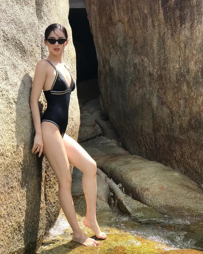 Chưa đến hè mà hot girl Việt đã sexy hết cỡ với bikini rồi! - Ảnh 7.