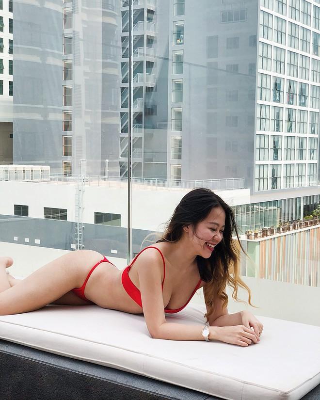 Chưa đến hè mà hot girl Việt đã sexy hết cỡ với bikini rồi! - Ảnh 12.