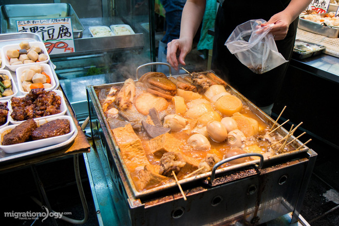Đa dạng ẩm thực khu chợ Kuromon Ichiba (Nhật Bản), món nào lỡ nhìn thấy cũng phải nghiện ngay - Ảnh 4.