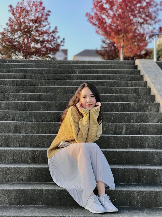 Cô nàng du học sinh Việt tại Nhật gây ấn tượng với nhan sắc ngọt ngào - Ảnh 1.