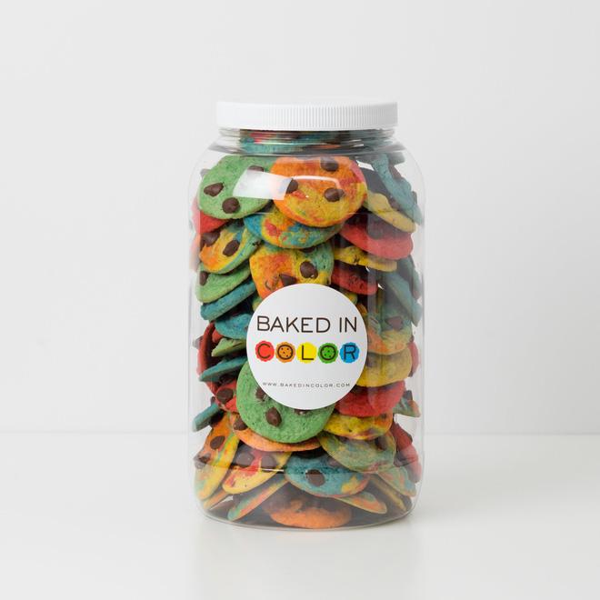 Bánh cookie cầu vồng: chủ quán làm ra để người ăn cảm thấy vui vẻ hơn và giá của nó lên đến hơn 1 triệu - Ảnh 5.