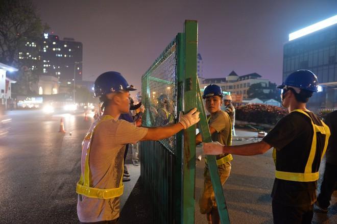 Hà Nội: Bắt đầu rào đường Trường Chinh phục vụ thi công đường vành đai 2 - Ảnh 2.