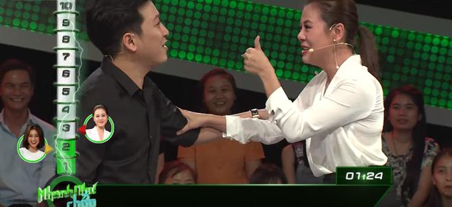 Lan Ngọc đe dọa nhắc lại chuyện cũ của Trường Giang trên show thực tế - Ảnh 2.