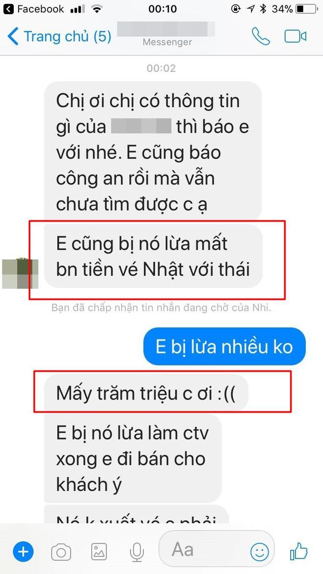 """Nhiều khách hàng tố nữ nhân viên phòng vé Vietnam Airlines ở Thanh Hóa """"bùng"""" hàng trăm triệu đồng tiền đặt vé máy bay - Ảnh 5."""
