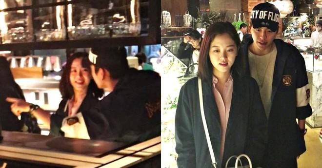 Mạnh miệng phủ nhận tin đồn tình cảm, cặp Hoa - Hàn mới lại lộ ảnh hẹn hò và lần này còn có cử chỉ tình tứ - Ảnh 4.