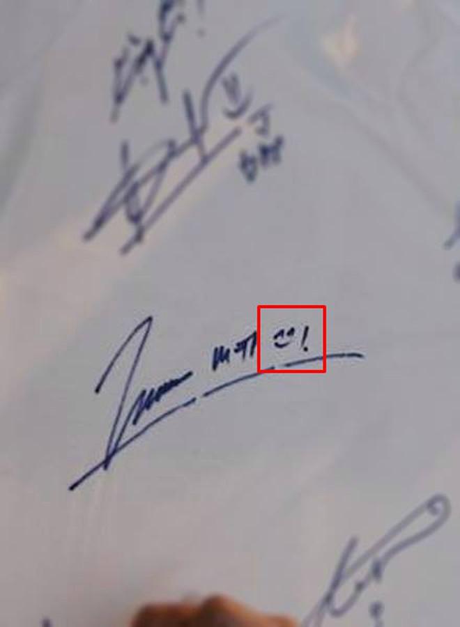 """Chữ ký của sao Việt: Người """"rồng bay phượng múa"""", kẻ đơn giản bất ngờ - Ảnh 3."""