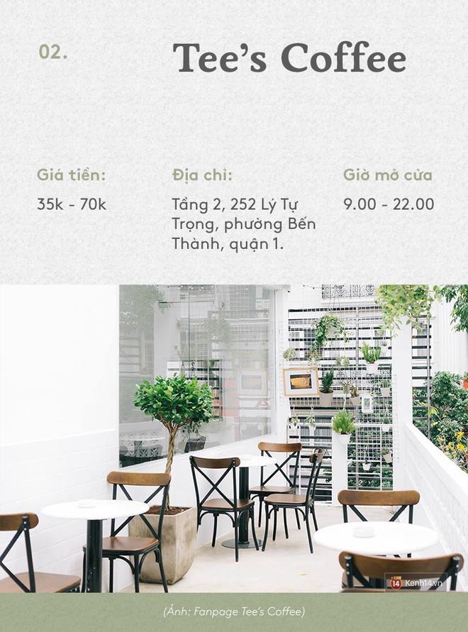 Sài Gòn: Không đi đâu thì ngồi 10 quán cà phê này cũng hết mấy ngày lễ - Ảnh 3.