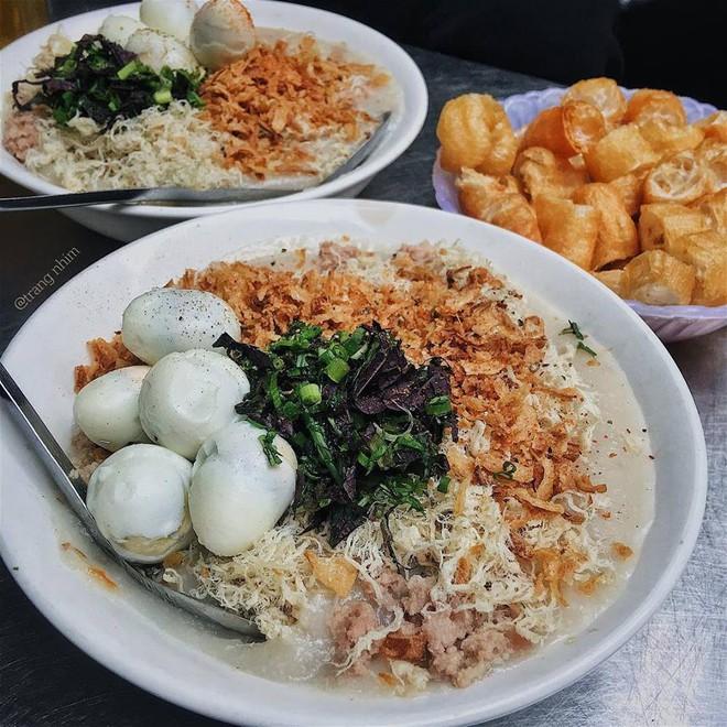 Ở Hà Nội, bạn có thể ăn cháo sườn... cả ngày vì khung giờ nào cũng có hàng bán - Ảnh 3.