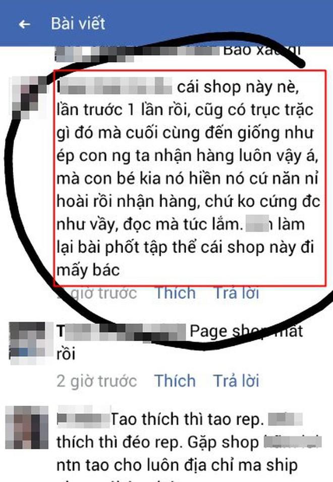 """Cô gái căng thẳng không dám đi học vì mới inbox hỏi tư vấn mua áo online đã bị chủ shop tố """"chuyên lừa đảo và bùng hàng ở TP. HCM"""" - Ảnh 4."""