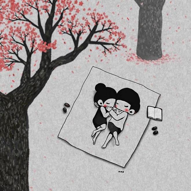 Bộ tranh: Yêu nhau giản đơn thế này thôi nhưng ai mà chẳng thích! - Ảnh 9.