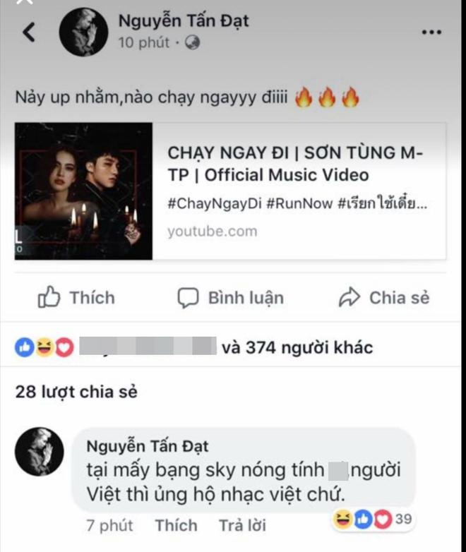 """Chủ nhân hit """"Buồn của anh"""" đăng đàn ngầm tố Sơn Tùng M-TP đạo nhái với MV """"Chạy ngay đi""""? - Ảnh 3."""