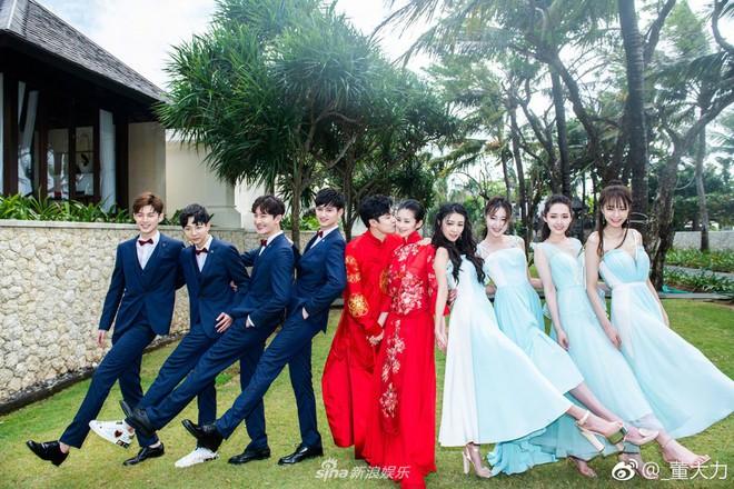 Đám cưới hot của Cbiz hôm nay: Tình địch của Dương Mịch lên xe hoa với đồng nghiệp sau 3 tháng sinh con - Ảnh 3.