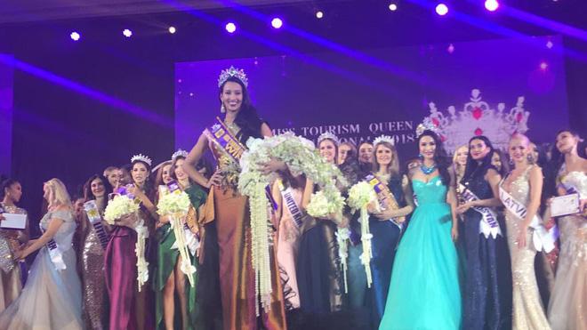 Người đẹp Brazil đăng quang Nữ hoàng Du lịch Quốc tế 2018, đại diện Việt Nam dừng chân ở Top 10 - Ảnh 2.