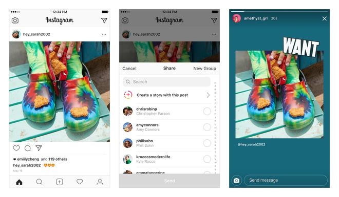 Instagram vừa cho đính thẳng ảnh bên ngoài lên Stories như một link dẫn, tha hồ ủng hộ câu Like tập thể - Ảnh 1.
