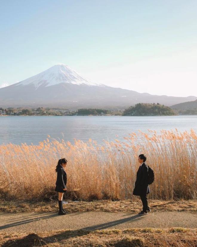 Chẳng ai rời mắt được những bức hình chụp Nhật Bản rất bình yên và trong trẻo của chàng trai Việt Nam này - Ảnh 1.