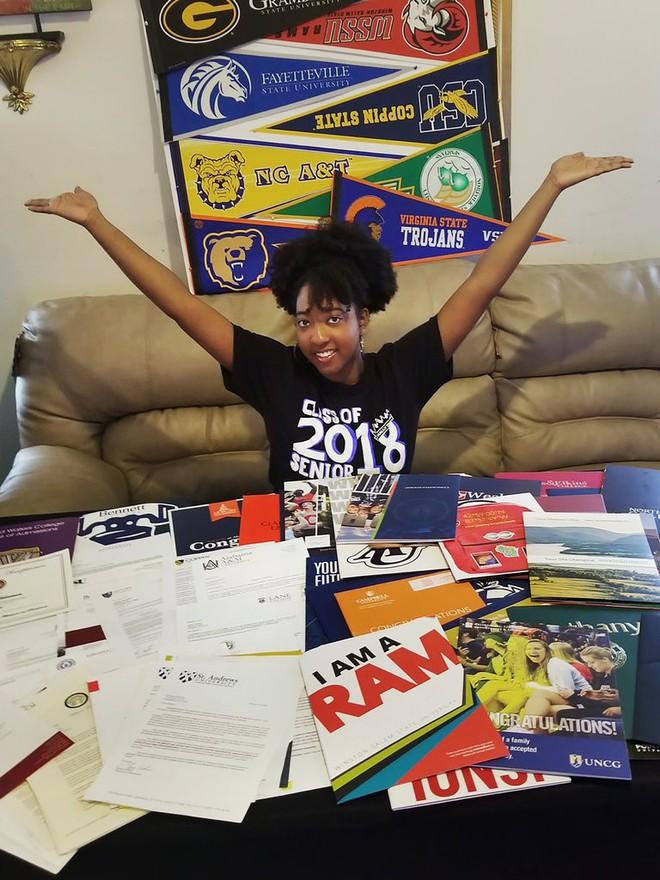 Nữ sinh 17 tuổi trúng tuyển 113 trường đại học Mỹ với học bổng lên đến 103 tỷ đồng - Ảnh 1.