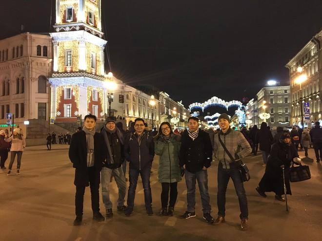 Du học sinh Việt hòa mình vào không khí chào năm mới khắp thế giới - Ảnh 5.