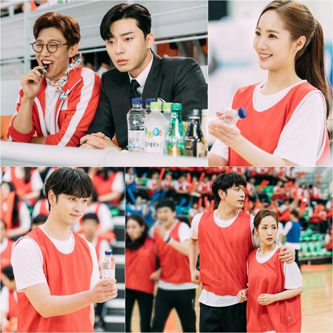 Thư Ký Kim: Park Seo Joon đơ mặt vì crush thân mật bên hai tình địch, anh thứ hai cực đẹp trai - Ảnh 3.