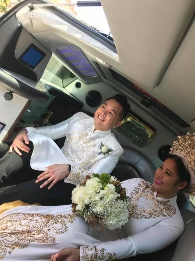 Con gái cao 1m78, xinh như hoa hậu của NSƯT Hồng Vân lên xe hoa cùng bạn trai 6 năm - Ảnh 2.
