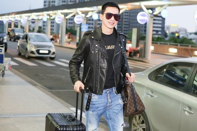 Võ Cảnh diện nguyên cây hàng hiệu, xuất hiện điển trai tại sân bay sang Ý dự Milan Fashion Week - Ảnh 5.