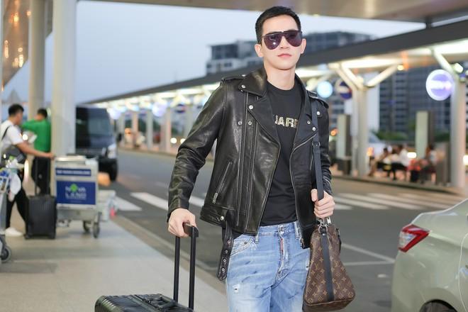 Võ Cảnh diện nguyên cây hàng hiệu, xuất hiện điển trai tại sân bay sang Ý dự Milan Fashion Week - Ảnh 8.