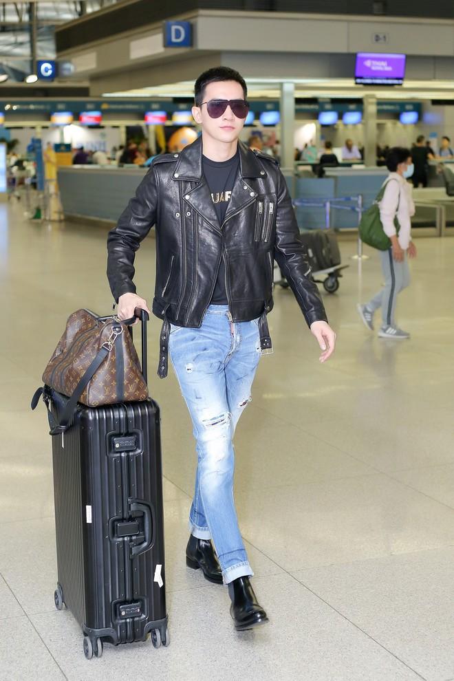 Võ Cảnh diện nguyên cây hàng hiệu, xuất hiện điển trai tại sân bay sang Ý dự Milan Fashion Week - Ảnh 9.