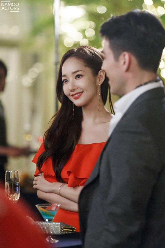 """Rất nhiều khán giả đã """"chết"""" vì thói quen sexy này của """"Thư ký Kim"""" Park Min Young - Ảnh 1."""