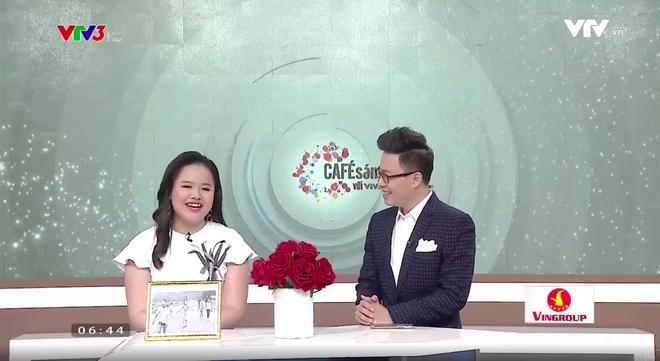 Lần đầu tiên MC của chương trình Cafe sáng với VTV3 là một cô bạn khiếm thị - Ảnh 7.
